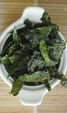 Receta fácil de Chips de Kale