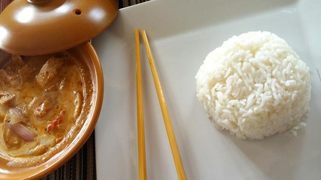 disminuir las calorias del arroz