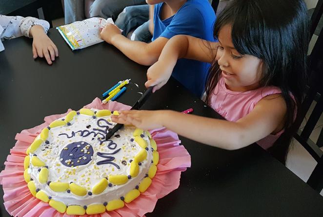 fiesta infantil saludable