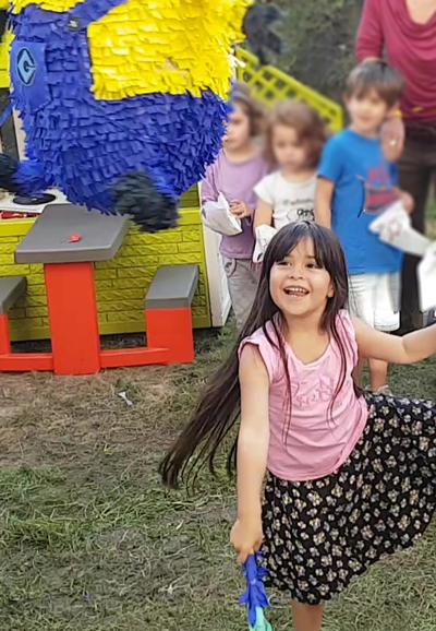 fiesta infantil saludable piñata