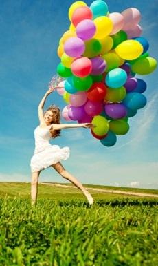 ¿Sientes que la felicidad se te escapa de las manos, como si fuese un globo? ¡Atrápala de nuevo!