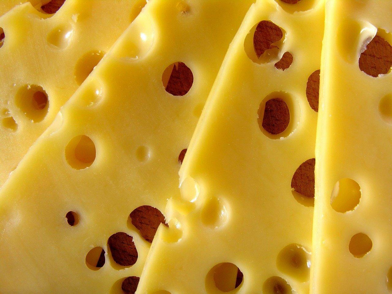 queso saludable amarillo